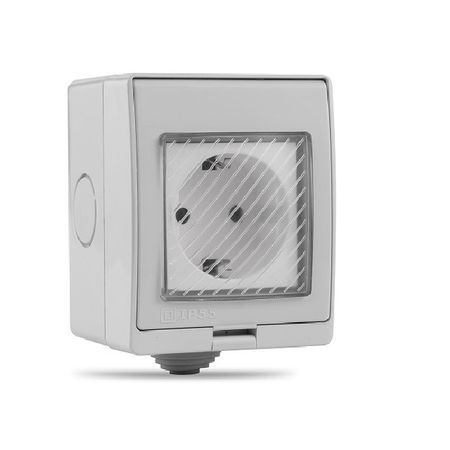 Priza inteligenta pentru exterior/interior controlata prin telefon 2200 W compatibila Alexa