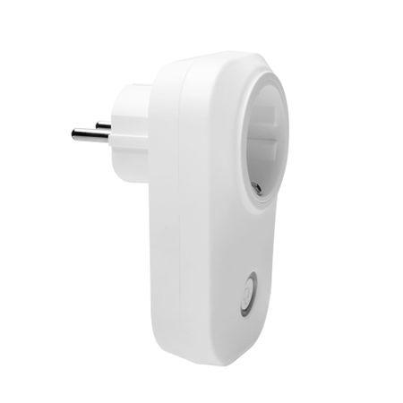 Priza inteligenta wireless cu contorizare si monitorizare consum energie,putere maxima 3500 W compatibila Alexa si Google Home
