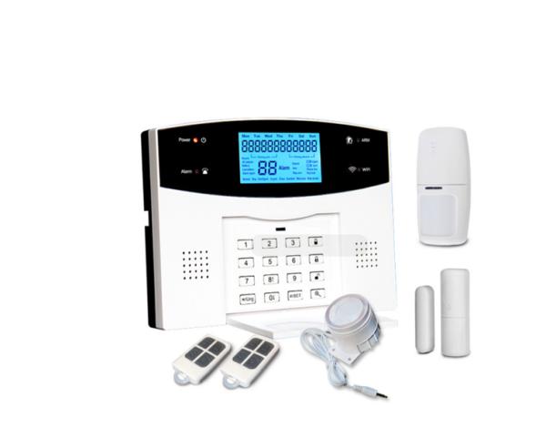 Sistem alarma wireless WIFI GSM PSTN WL-99ASF