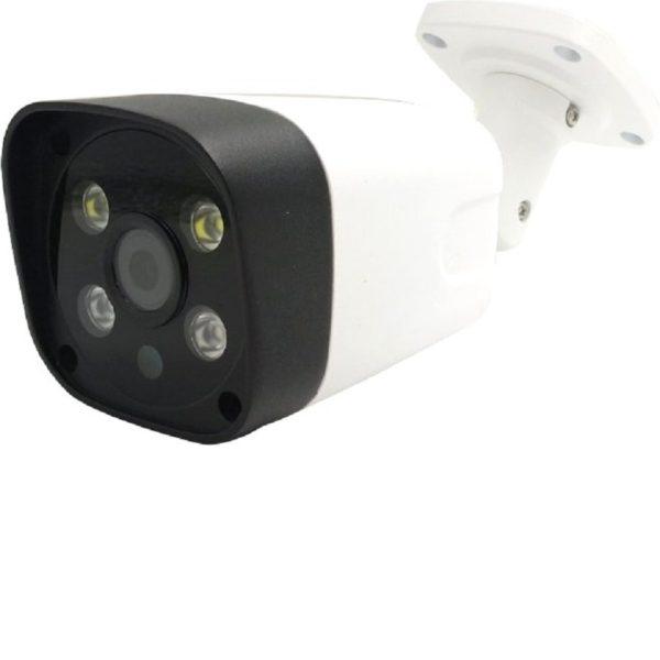Camera supraveghere wireless exterior FUNI TECH WSD 635 D full HD 1920×1080 IR 30 m lumina alba carcasa aluminiu