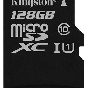 Card MicroSD KINGSTON SDXC 128GB (Clasa 10)
