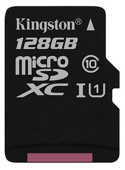 Card MicroSD KINGSTON SDXC 128GB (Clasa 10)