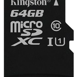 Card MicroSD KINGSTON SDXC 64GB (Clasa 10),