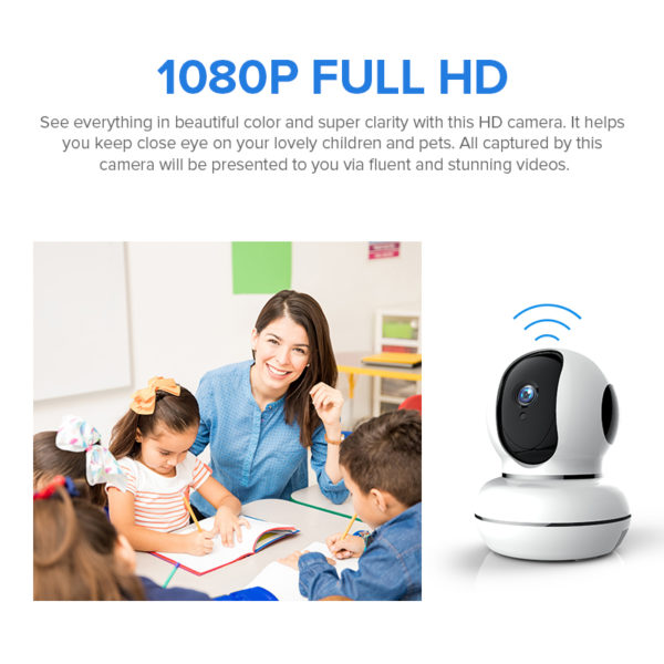 Camera supraveghere interior wireless full HD TV268ZD autotracking