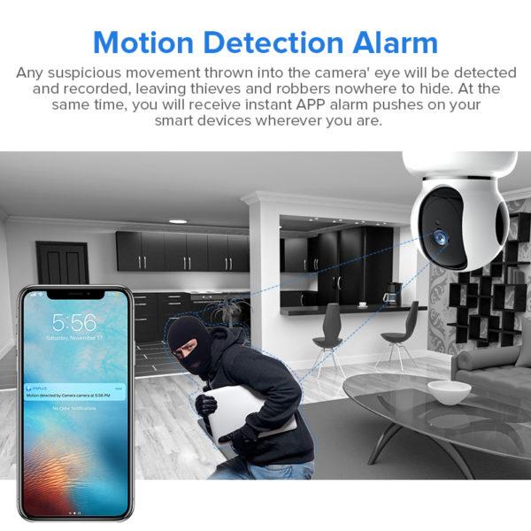 Camera supraveghere interior wireless full HD TV268ZD autotracking