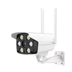 Camera supraveghere IP wireless exterior STARLIGHT V380 2 MP full HD 1920×1080 p comunicare bidirectionala lumina alba