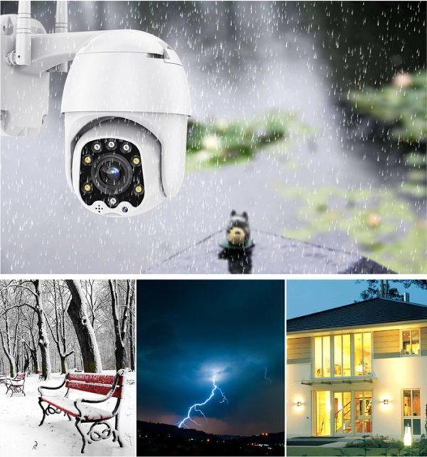 Camera supraveghere IP wireless ZHRCAM-IP9083 full HD zoom optic 5x